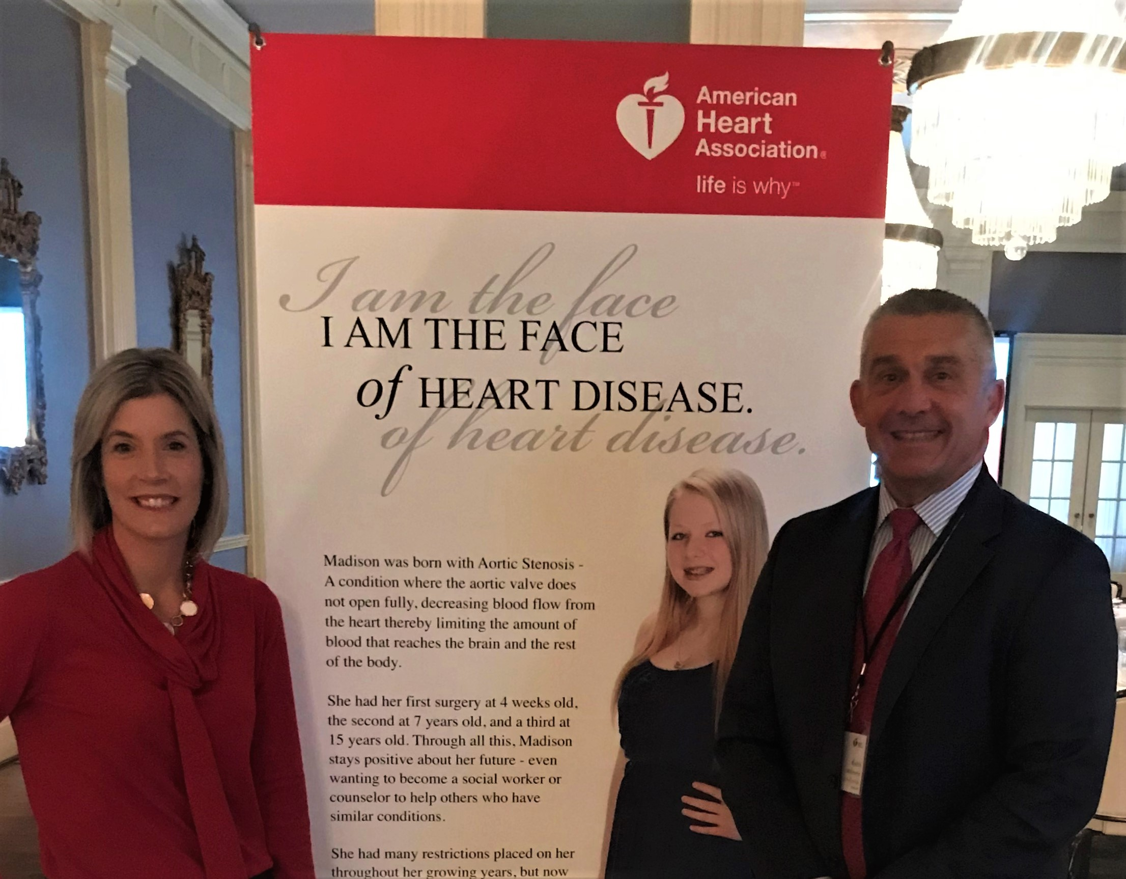 American Heart Association Support